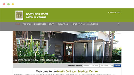 image of north bellingen medical centre exterior